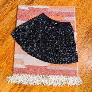 H&M Divided Polka Dot Pleated Skirt